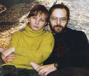 Дмитрий Мыльников с женой Олей